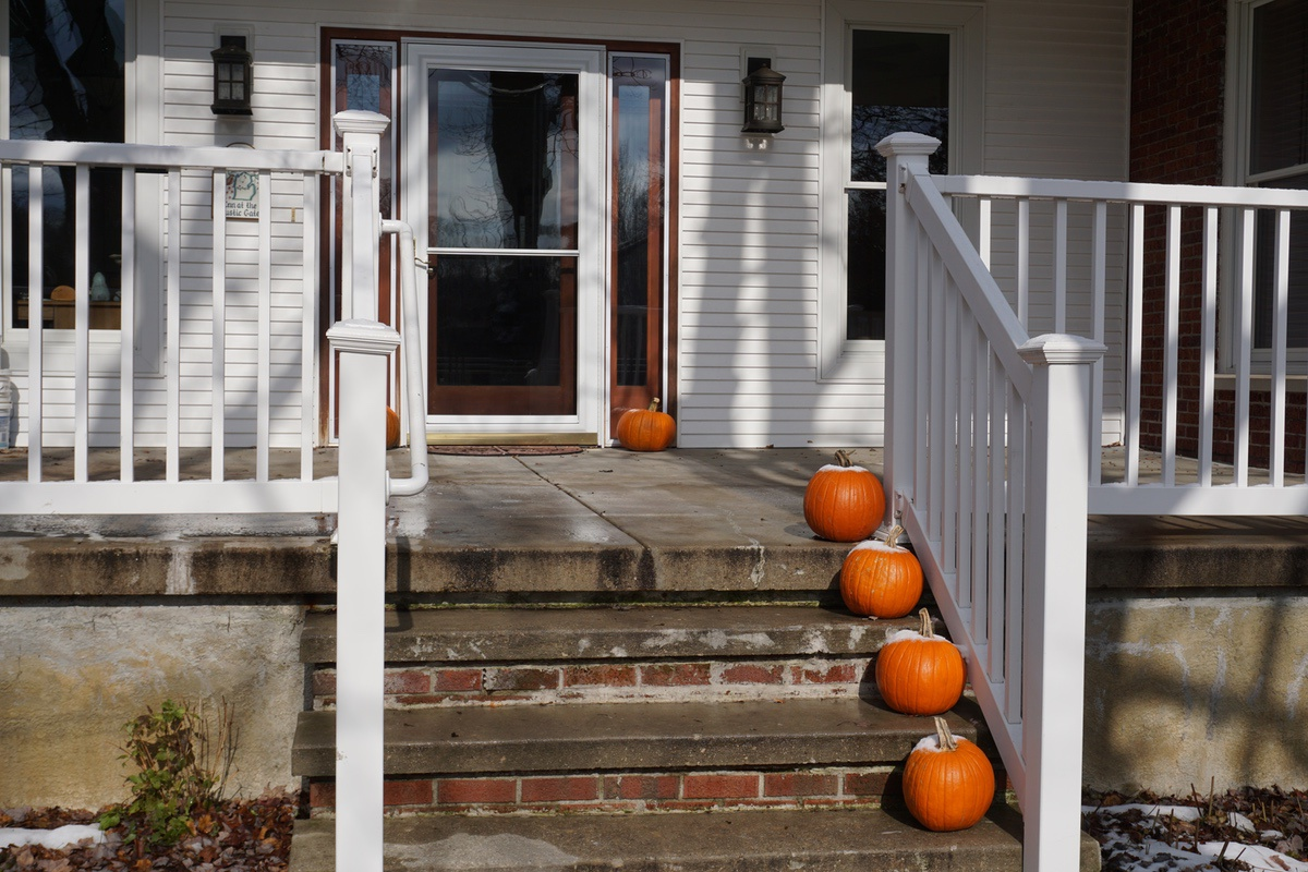Late Fall Porch